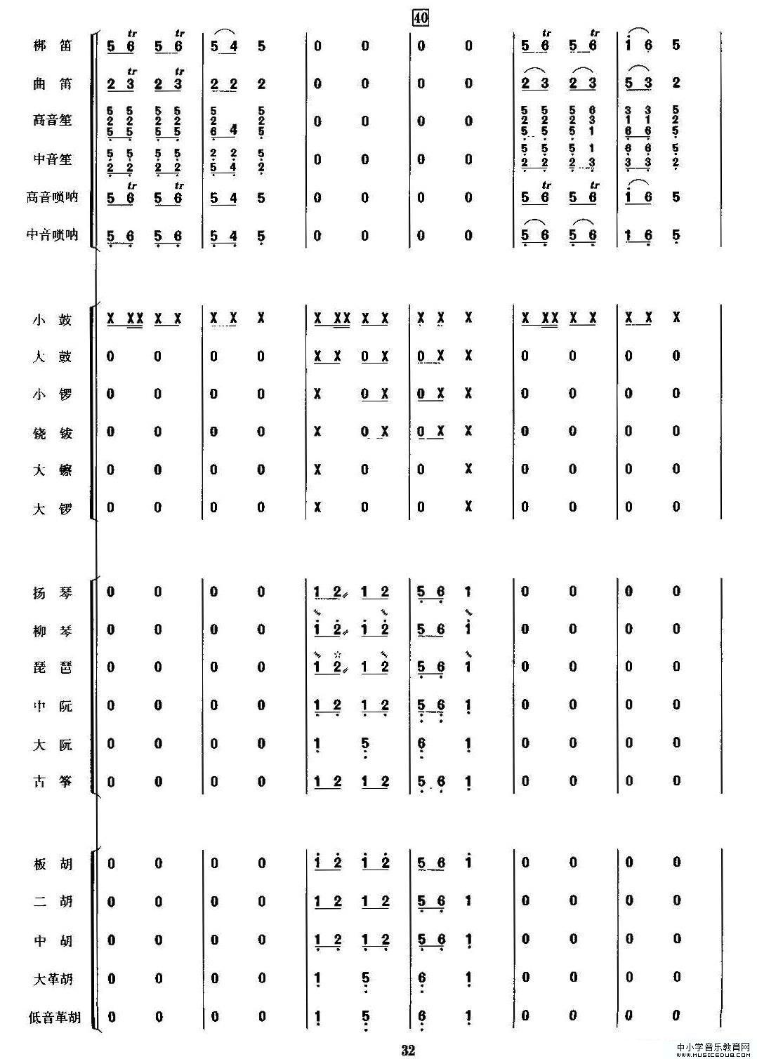金蛇狂舞(民乐合奏总谱,周仲康配器版)(1)_原文件名:j7