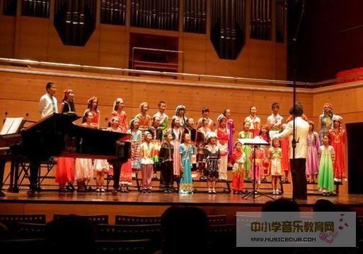 山区孩子免费参加爱乐天使合唱团国际夏令营